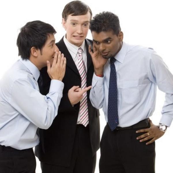 Fofoca no ambiente de trabalho